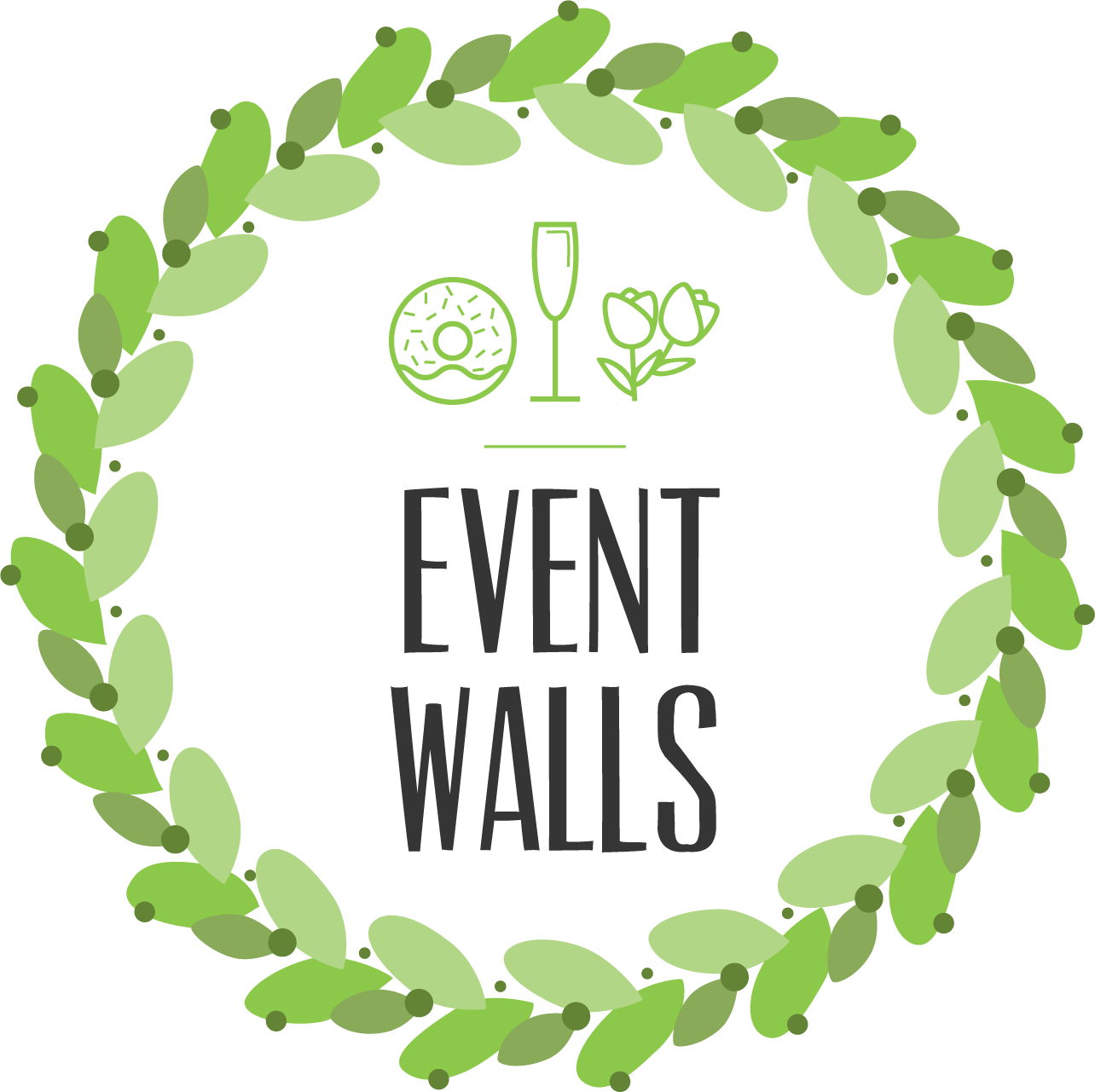 Event Walls - Prosecco Wall's, Flower Wall's and Donut Walls!